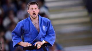 Judo silver medallist Colin Oates