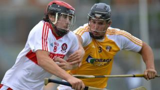 Antrim beat Derry in the Ulster Under-21 hurling final at Casement Park