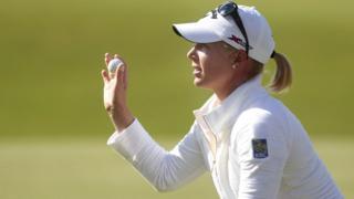 US golfer Morgan Pressel
