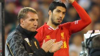 Brendan Rodgers and Luis Suarez