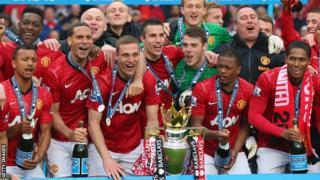 Manchester United; Premier League champions