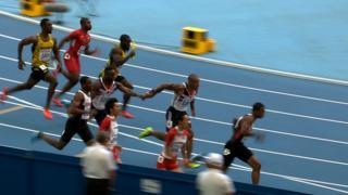 British relay team