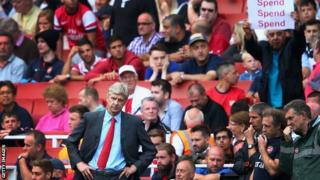 Arsenal boss Arsene Wenger is under pressure to spend before the transfer window closes