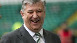 Celtic chief executive Peter Lawwell