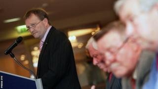 David Martin has returned to the post of Irish Football Association vice-president