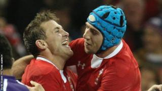 Ashley Beck and Justin Tipuric