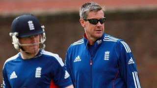 England stand-in captain Eoin Morgan and limited-overs coach Ashley Giles