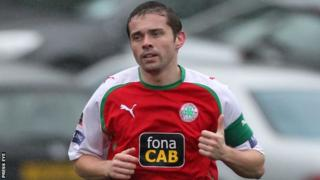 Chris Scannell of Cliftonville