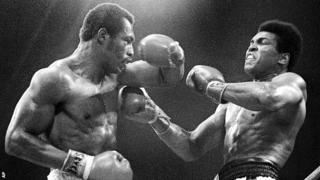 Ken Norton and Muhammad Ali