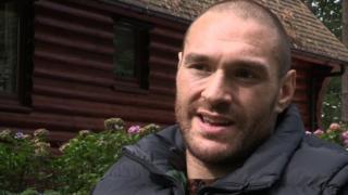 Heavyweight Tyson Fury