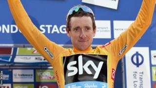 British cyclist Sir Bradley Wiggins