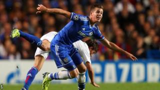 Chelsea's Marco Van Ginkel is out for the season