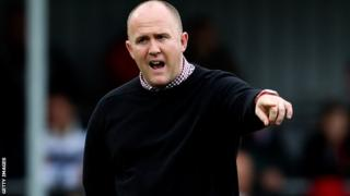 Cornish Pirates coach Ian Davies