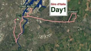 BBC News NI can reveal the route of next May's prestigious Girl d'Italia cycle race - ahead of the official launch next week.