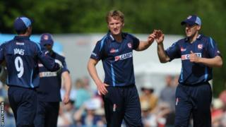 Adam Ball (c) with James Tredwell