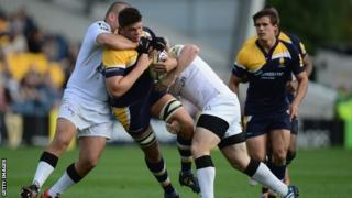 Worcester struggled to find a way past the Newcastle defence