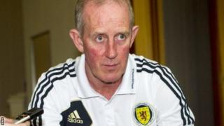 Scotland Under-21 manager Billy Stark