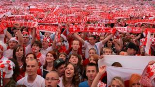 Poland supporters