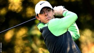 Rory McIlroy in action in the Korea Open pro-am on Wednesday