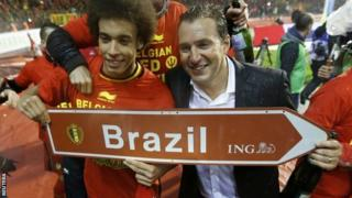 Marc Wilmots fifth-ranked Belgium side are one of eight World Cup seeds