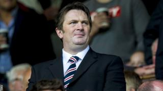 Rangers director Sandy Easdale