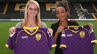 (l to r) Sophie Bradley and Jess Clarke
