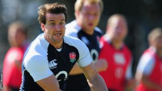 Lee Dickson in England training