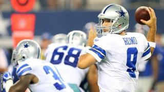 Dallas Cowboys quarterback Tony Romo
