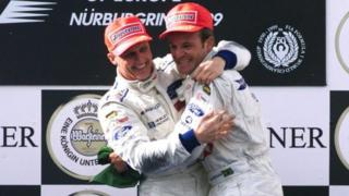 Johnny Herbert Rubens Barrichello