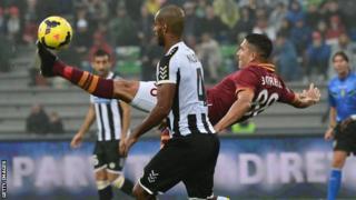 Udinese v Roma