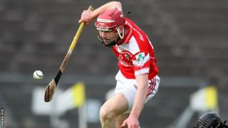Odhran McFadden produced an outstanding display for Loughgiel