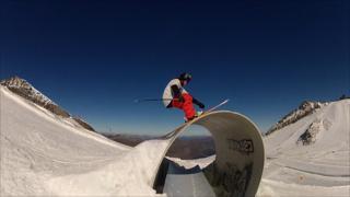 British freestyle skier James Woods