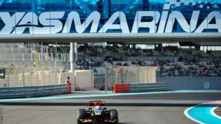 French driver Romain Grosjean
