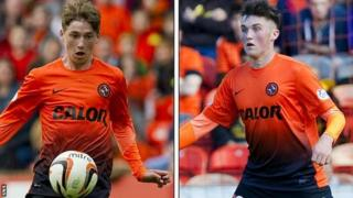 Ryan Gauld and John Souttar