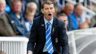 Hartlepool manager Colin Cooper
