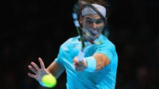 World number one Rafael Nadal