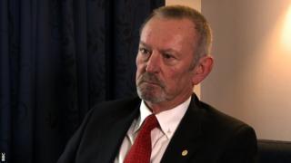 IPC presidential candidate Alan Dickson