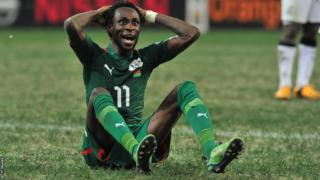 Burkina Faso star Jonathan Pitroipa