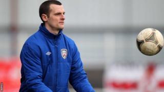 Coleraine boss Oran Kearney