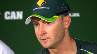 Australian captain Michael Clarke
