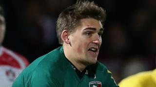 Leicester and England stand-off Toby Flood