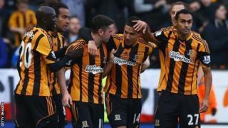 Jake Livermore celebrates scoring for Hull