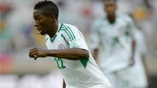 Nigeria's Kenneth Omeruo