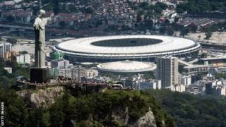 Estadio Do Maracana stadium, Rio de Janeiro