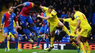 Cameron Jerome scores for Crystal Palace