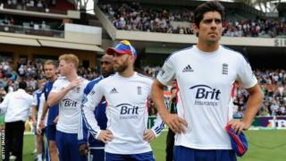 Alastair Cook and England