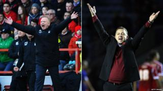 Alex McLeish and Billy Davies