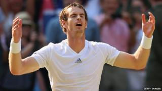 Andy Murray wins Wimbledon for the first time