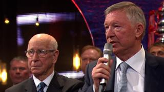 Sir Alex Ferguson wins Diamond award at BBC Sports Personality of the Year