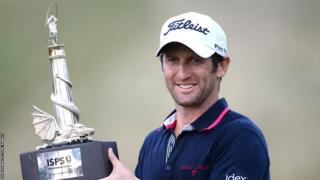 French golfer Gregory Bourdy won the Wales Open at Celtic Manor
